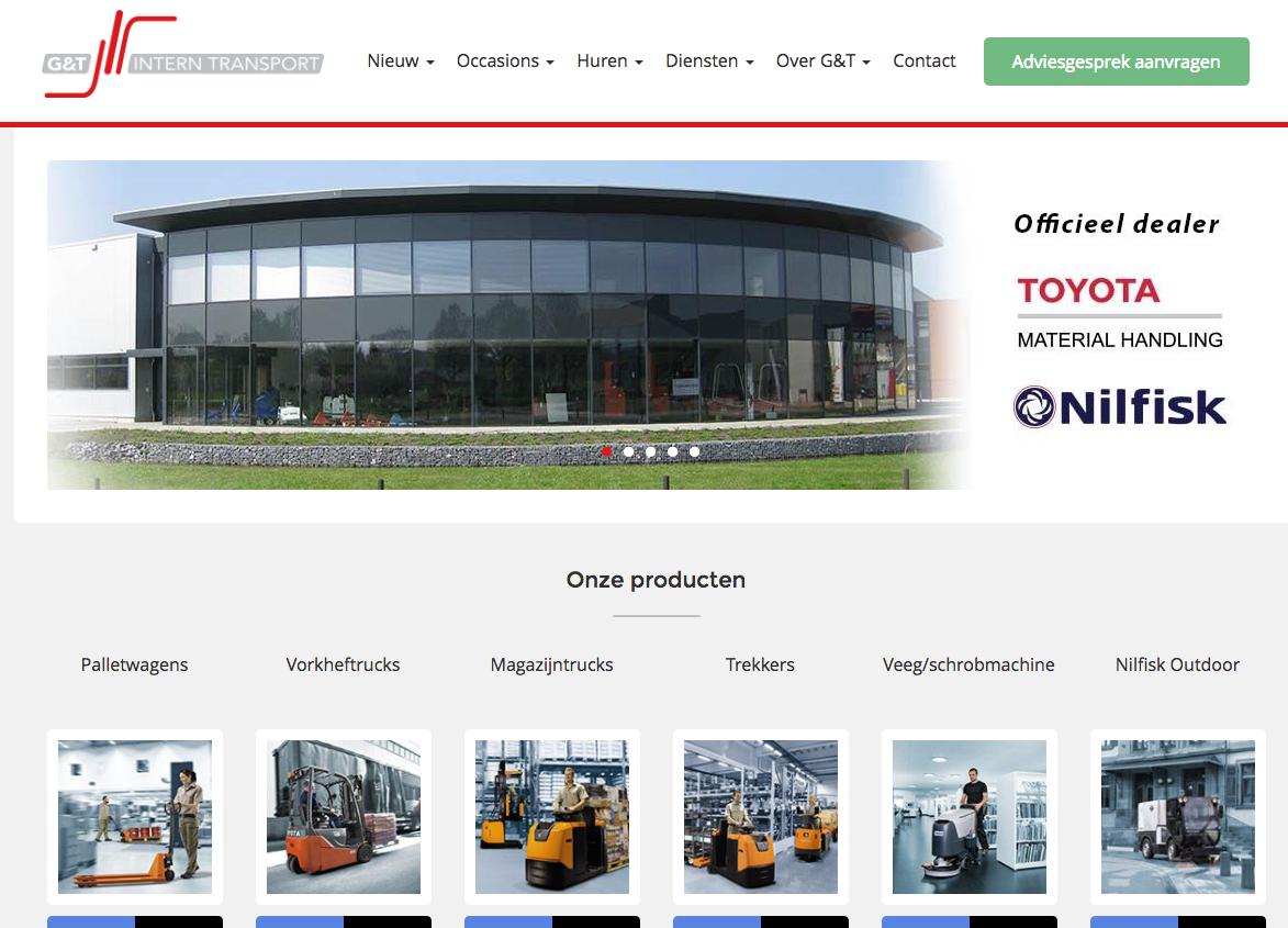 G&T website