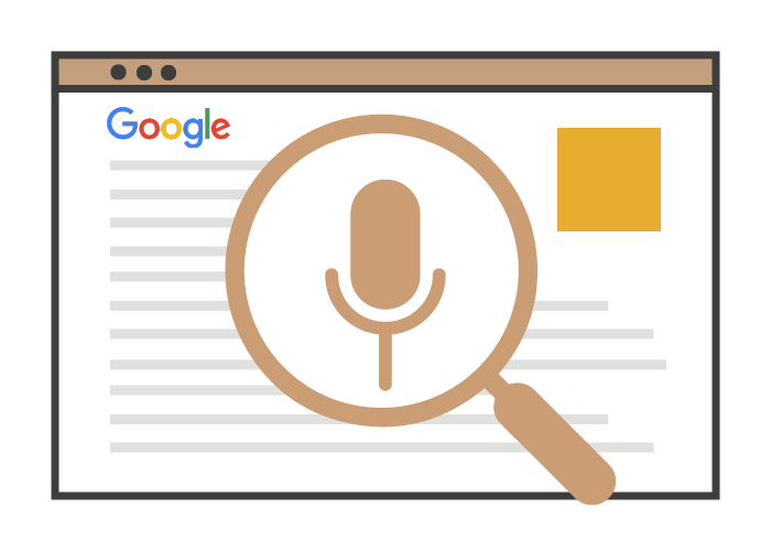 Artificial Intelligence Voice Search